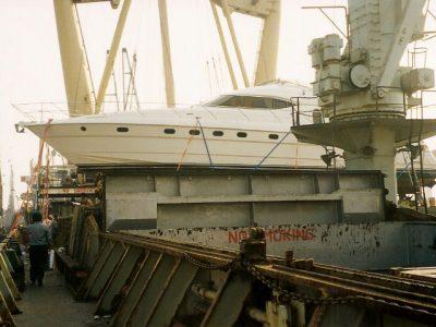 Princess 60 Motoryacht shipping from Mumbai India