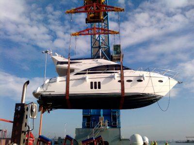 Princess yachts 50 shipping