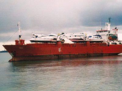 Shipping boats Southampton to Mallorca