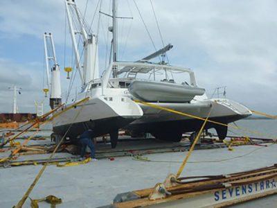 Voyage 440 shipping Australia to USA