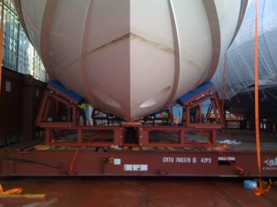 SuperYacht Shipping Cradle