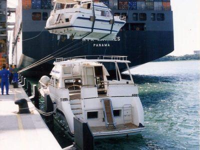Trader motoryachts shipping