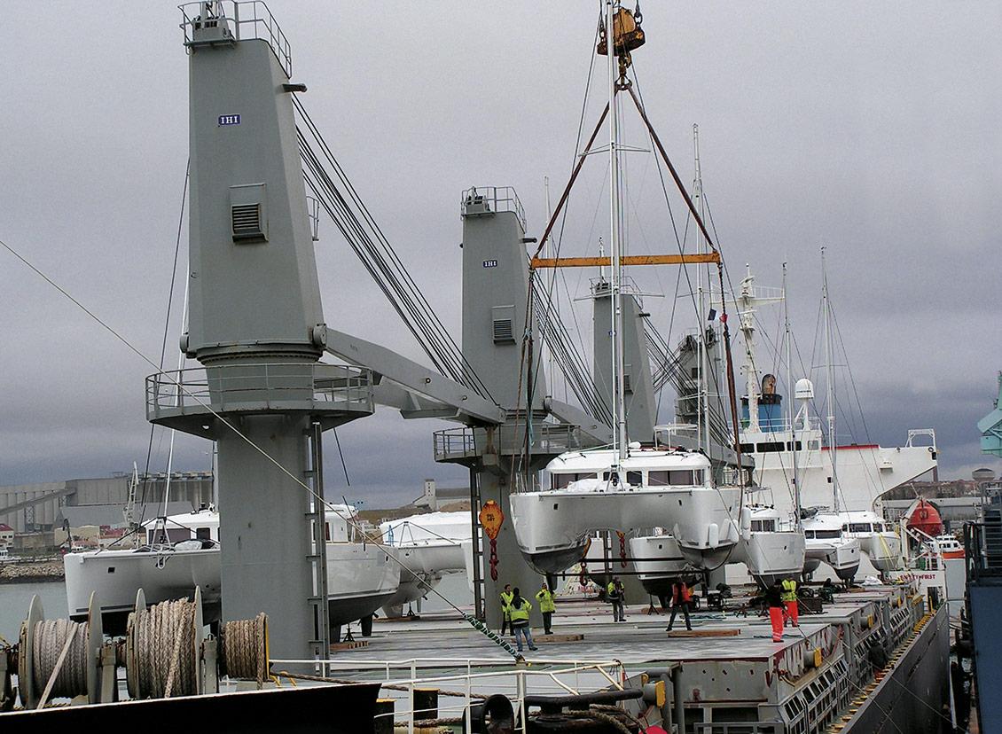 Superyacht Shipping Sailings
